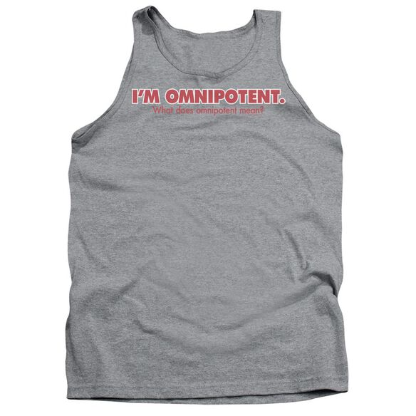 Omnipotent Adult Tank Athletic