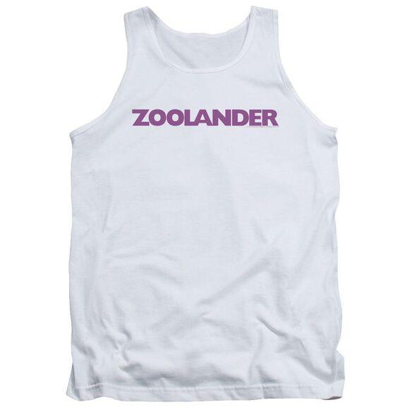 Zoolander Logo Adult Tank