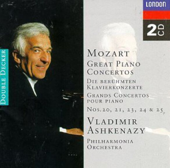 Vladimir Ashkenazy - Piano Concertos 20-25