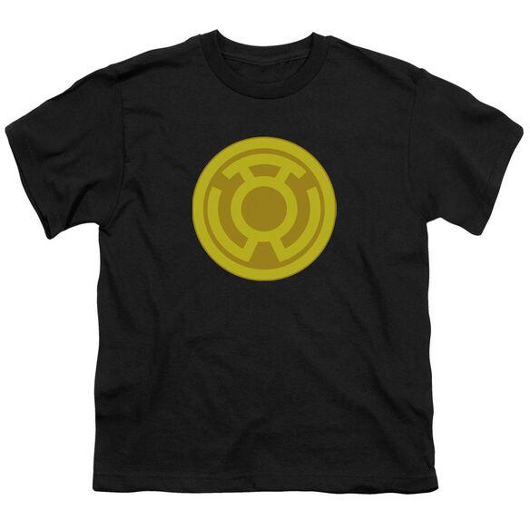 Green Lantern Yellow Symbol Short Sleeve Youth T-Shirt