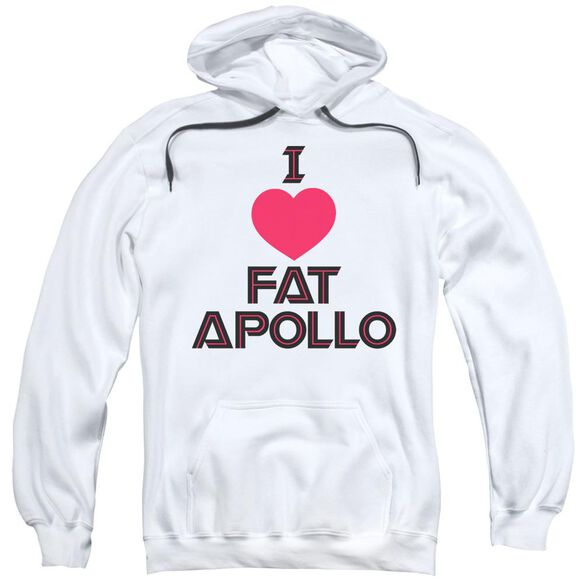Bsg I Heart Fat Apollo Adult Pull Over Hoodie