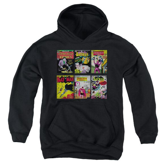 Batman Bm Covers Youth Pull Over Hoodie