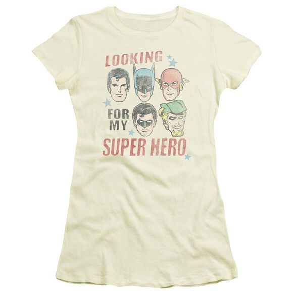 Jla My Super Hero Short Sleeve Junior Sheer T-Shirt