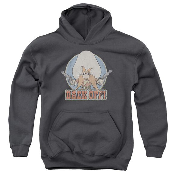 Looney Tunes I Said Back Off Youth Pull Over Hoodie