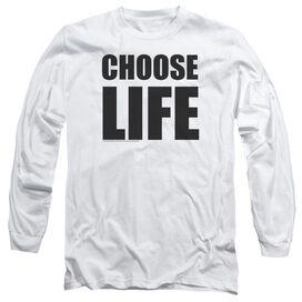 Wham Choose Life Long Sleeve Adult T-Shirt