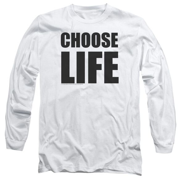 Wham Choose Life Long Sleeve Adult T-Shirt