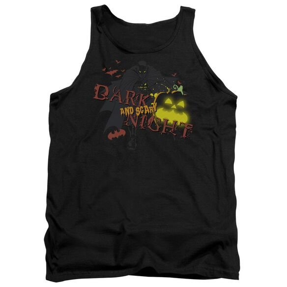 Batman Dark And Scary Night Adult Tank