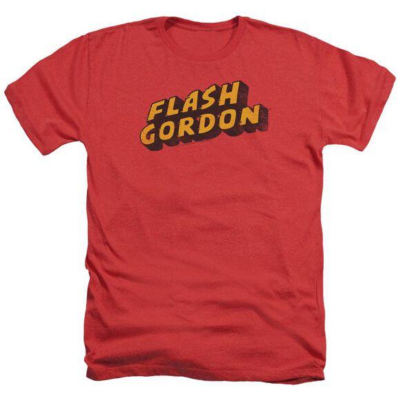 Flash Gordon Logo Adult Heather
