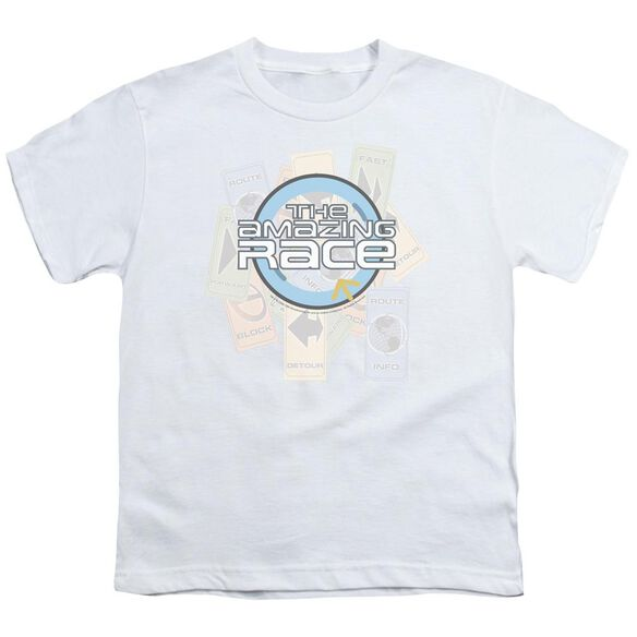 Amazing Race The Race Short Sleeve Youth T-Shirt