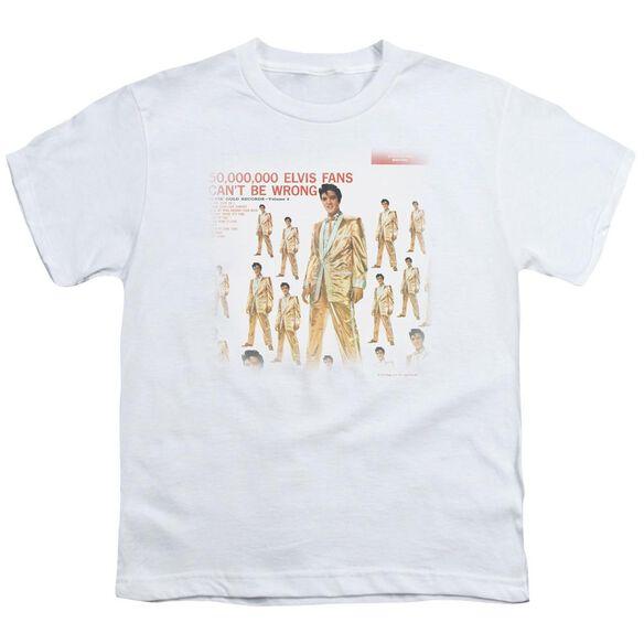 Elvis 50 Million Fans Short Sleeve Youth T-Shirt