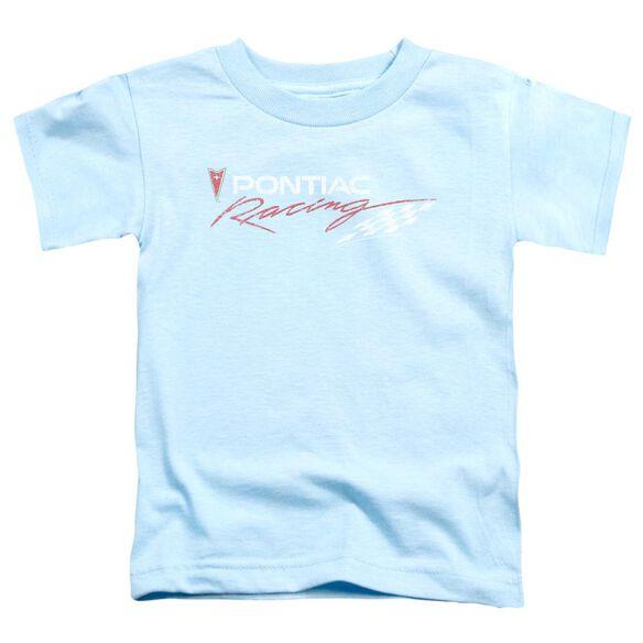 Pontiac Pontiac Racing Rough Hewn Short Sleeve Toddler Tee Light Blue T-Shirt