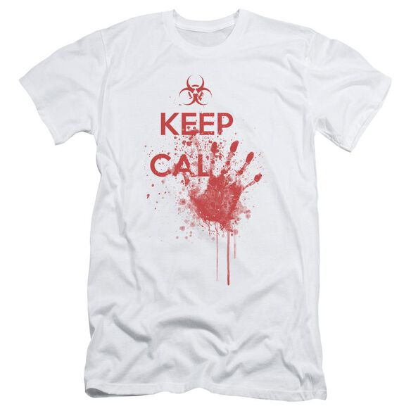 Keep Cal Short Sleeve Adult T-Shirt