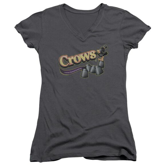 Tootise Roll Crows Junior V Neck T-Shirt
