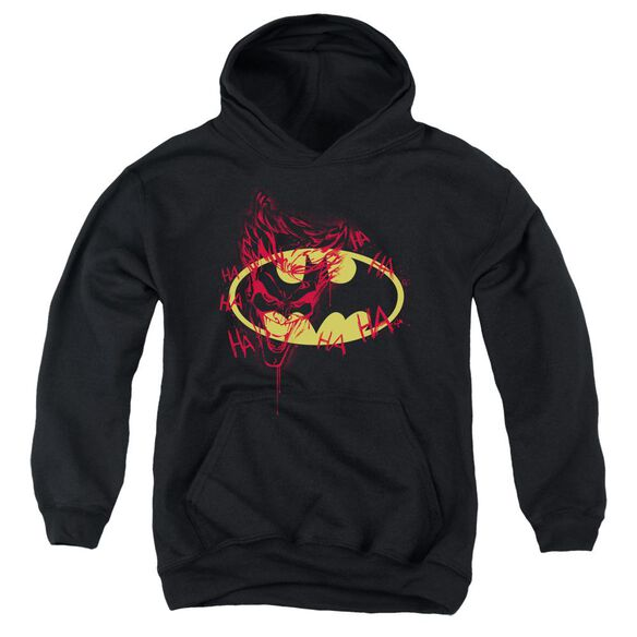 Batman Joker Graffiti Youth Pull Over Hoodie