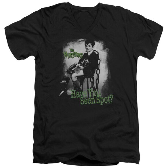 The Munsters Have You Seen Spot Short Sleeve Adult V Neck T-Shirt