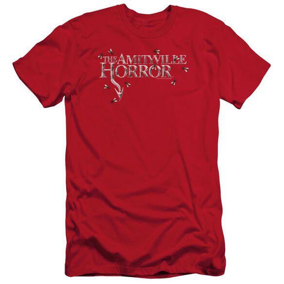 Amityville Horror Flies Short Sleeve Adult T-Shirt