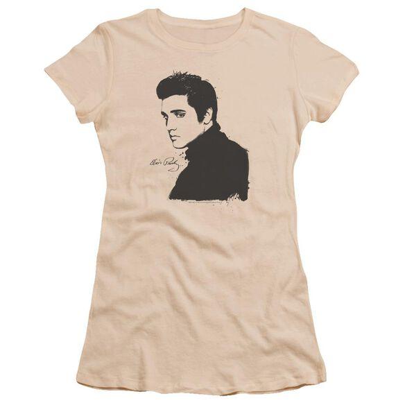 Elvis Black Paint Premium Bella Junior Sheer Jersey