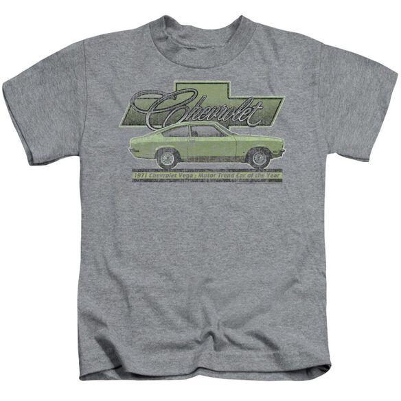 Chevrolet Vega Car Of The Year 71 Short Sleeve Juvenile Athletic T-Shirt