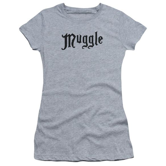 Harry Potter Muggle Short Sleeve Junior Sheer Athletic T-Shirt