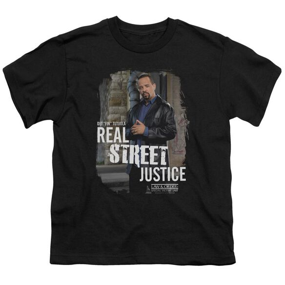 Law And Order Svu Street Justice Short Sleeve Youth T-Shirt