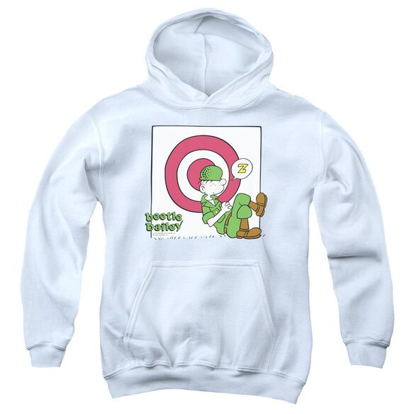 Beetle Bailey Target Nap Youth Pull Over Hoodie