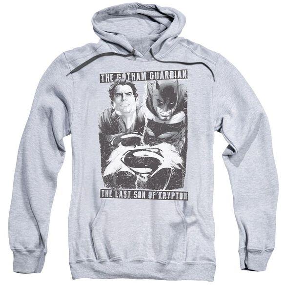 Batman V Superman Guardian V Son Adult Pull Over Hoodie Athletic