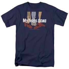 My Three Sons Shoes Logo Short Sleeve Adult T-Shirt