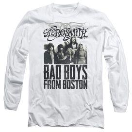 Aerosmith Bad Boys Long Sleeve Adult T-Shirt