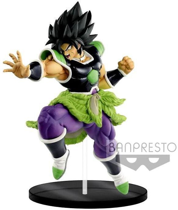 Dragon Ball Super Ultimate Soldiers - The Movie Broly 9-Inch Collectible PVC Figure #01 [Rage Mode]