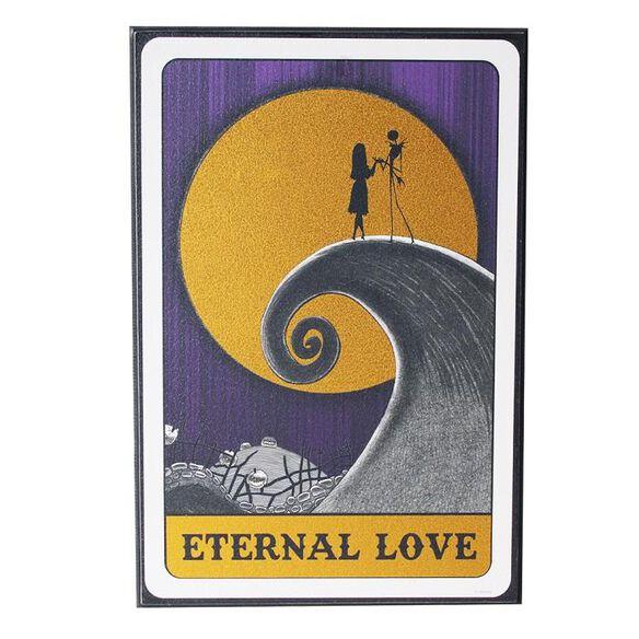Nightmare Before Christmas - Eternal Love Foil Wall Art