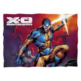 Xo Manowar Sword Of Light (Front Back Print) Pillow Case White