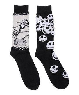 Nightmare Before Christmas Crew Socks [2 pack]
