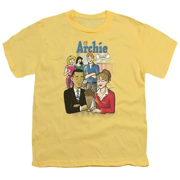 Archie Comics Anything's Possible Short Sleeve Youth T-Shirt