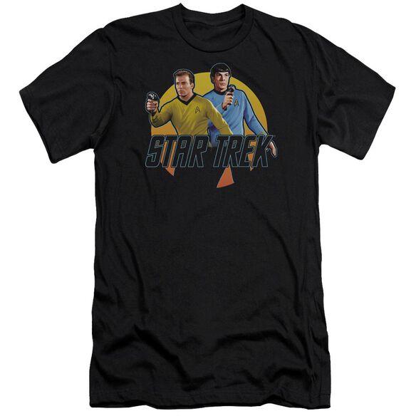 Star Trek Phasers Ready Short Sleeve Adult T-Shirt