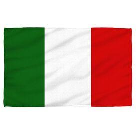 Italian Flag Face Hand Towel
