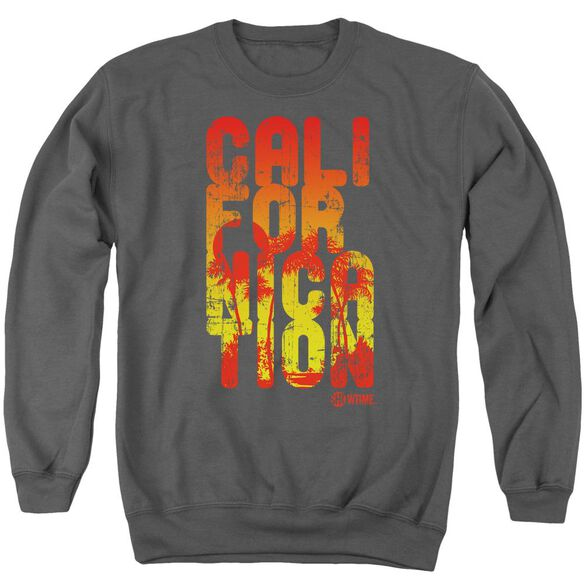 Californication Cali Type Adult Crewneck Sweatshirt