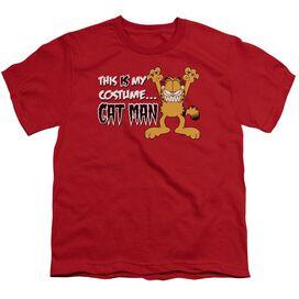 GARFIELD CAT MAN - S/S YOUTH 18/1 T-Shirt