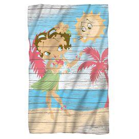 Betty Boop Hula Boop Fleece Blanket