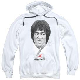 Bruce Lee Self Help Adult Pull Over Hoodie