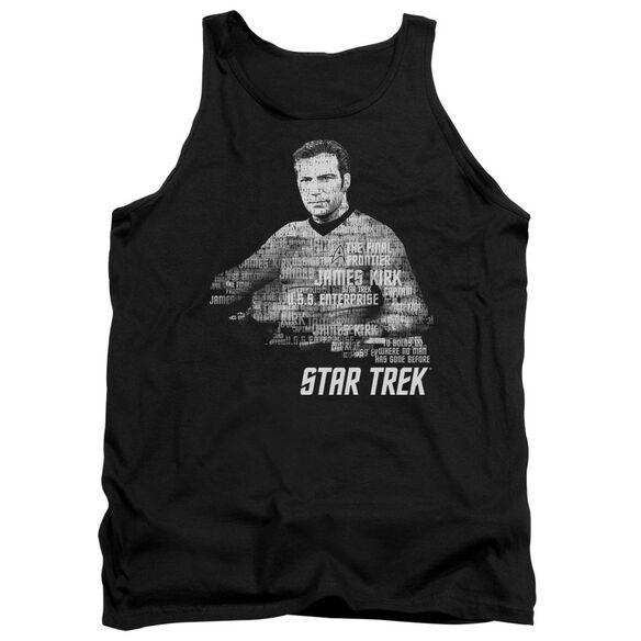 Star Trek Kirk Words Adult Tank