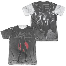 Velvet Revolver Contraband Sub (Front Back Print) Adult Poly Cotton Short Sleeve Tee T-Shirt
