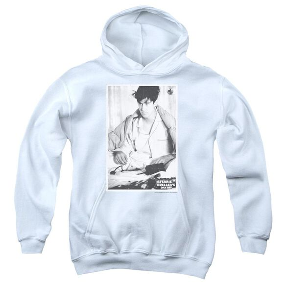 Ferris Bueller Cameron Youth Pull Over Hoodie