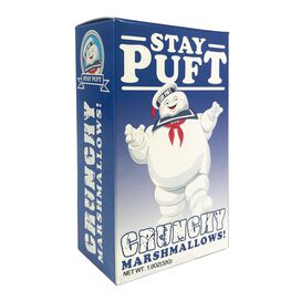 Ghostbusters Stay Puft Crunchy Marshmallows