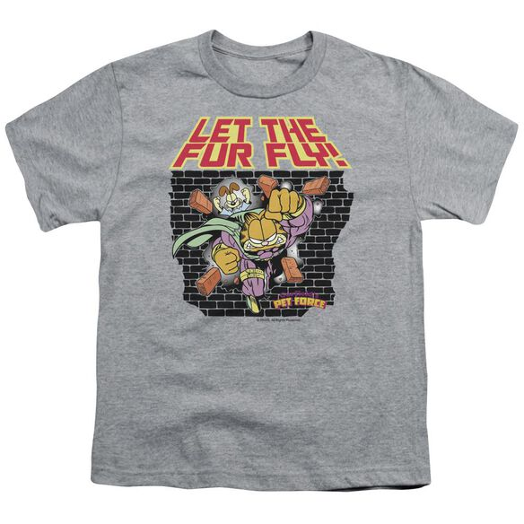 GARFIELD LET THE FUR FLY-S/S YOUTH T-Shirt