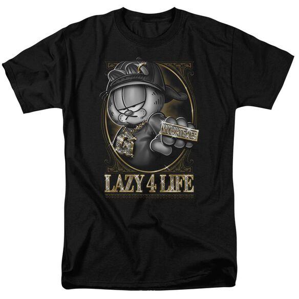 Garfield Lazy 4 Life Short Sleeve Adult T-Shirt