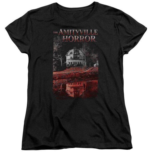 Amityville Horror Cold Blood Short Sleeve Womens Tee T-Shirt