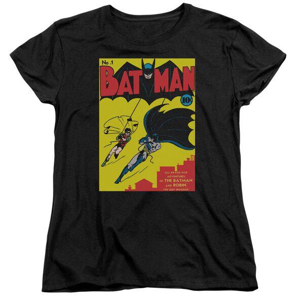 Batman Batman First Short Sleeve Womens Tee T-Shirt