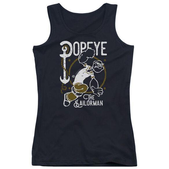 Popeye Vintage Sailor Juniors Tank Top