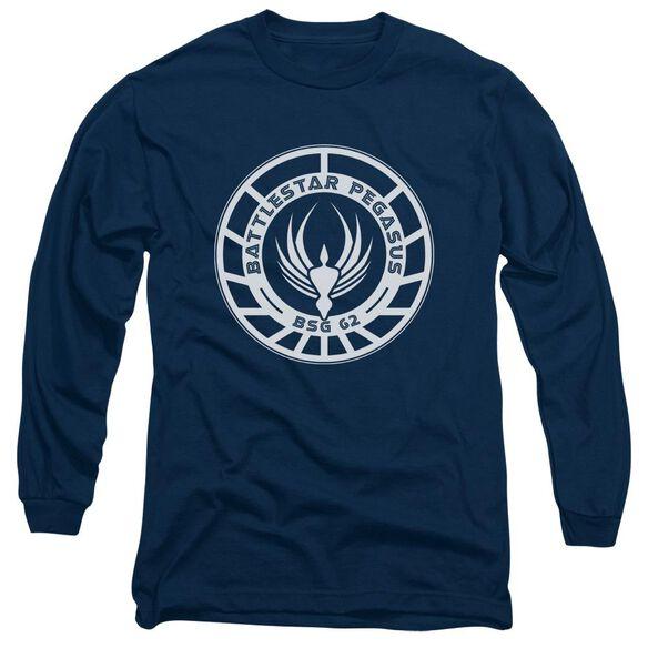 BSG PEGASUS BADGE- L/S ADULT T-Shirt