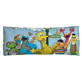 Sesame Street Retro Gang Microfiber Body